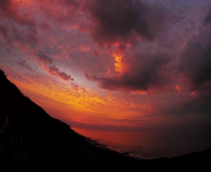 Sunset stitch cromer